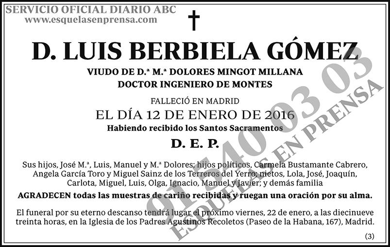 Luis Berbiela Gómez